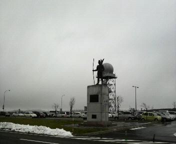 またしても旭川空港